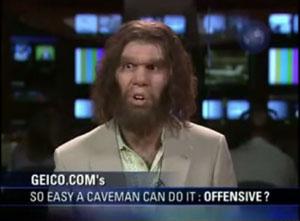 the Geico 'Caveman'