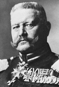 profile pic of Von Hindenburg