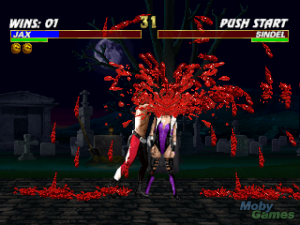 One of the bloodiest Fatalities in Mortal Kombat