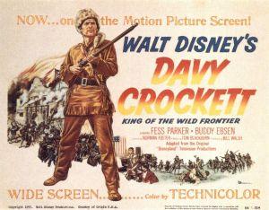 Davy crockett movie poster