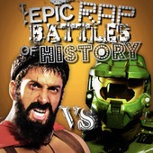 Master Chief vs Leonidas (http://epicrapbattlesofhistory.com/)