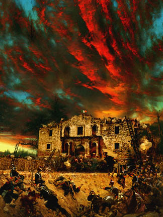 The Seige of the Alamo