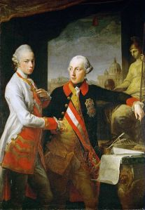 Joseph II ... he's the girl on the right.