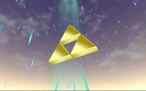 rain triforce screenshots the legend of zelda the legend of zelda ocarina of time skies 1280x800_www.wallpaperhi.com_85