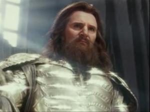 Either Liam Neeson is Zeus, or Zeus is Liam Neeson...