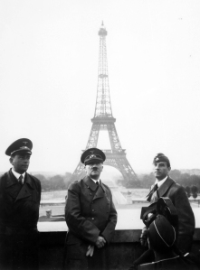 Hitler stopped in Paris to take a pic for Instagram
