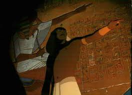 A scene of Ramses II from 'The Prince of Egypt'