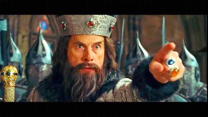 """Christopher Guest as Ivan the Terrible in """"Night at the Museum: Battle of the Smithsonian"""""""