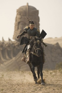 "Jet Li as Qin Shi in ""The Mummy: Tomb of the Dragon Emperor"""