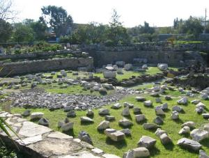 ruins at halicarnassus