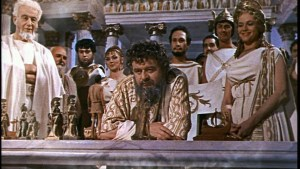 "The Greek Gods of Mount Olympus in the film ""Jason and the Argonauts"""