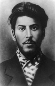 a photograph of Josef Stalin as a young adult