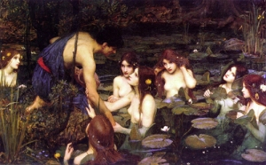 a classic painting of Jason and the women of Lemnos