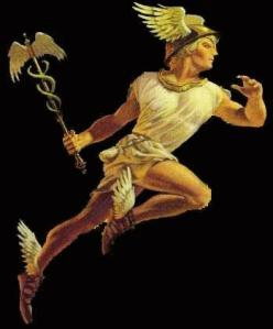 Hermes / Mercury of Greek / Roman mythology
