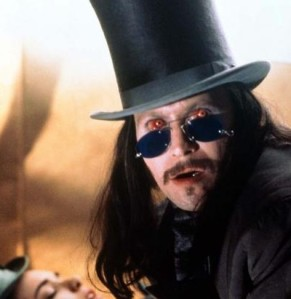 "Gary Oldman as the Count in ""Bram Stoker's Dracula"" by Francis Ford Coppola"