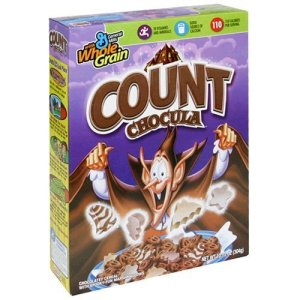 Count Chocula cereal