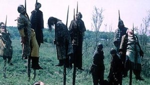 impaled corpses courtesey of vlad