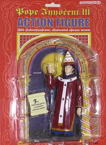 Pope Innocent III - action figure