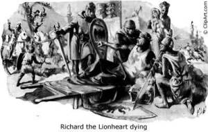 The Death of Richard the Lionheart