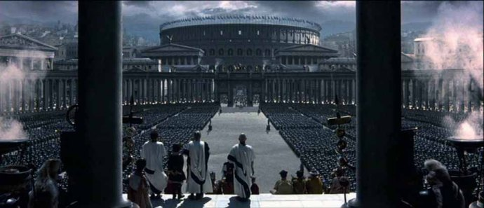 the Colosseum from the movie Gladiator (2000)