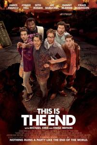 poster for 'this is the end'