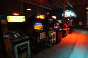 Flynn's Arcade from 'Tron Legacy'