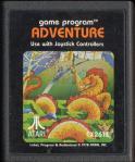 Atari game: 'Adventure'