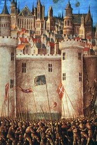a medieval depiction - the Siege of Antioch