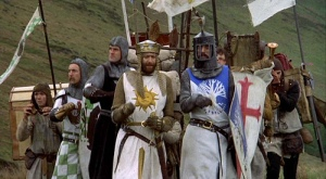scene from 'Monty Python and the Holy Grail'