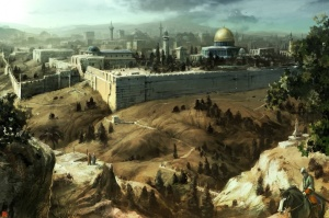 "Jerusalem concept art for ""Assassin's Creed"""