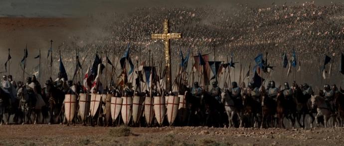 the Battle of Hattin (Kingdom of Heaven)