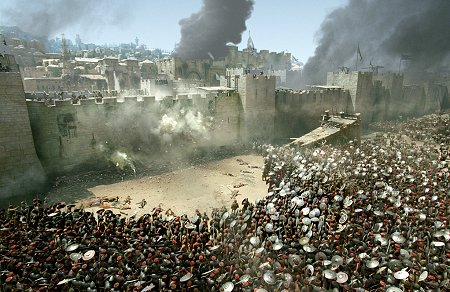Jerusalem under siege... yet again...