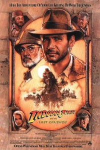 poster for 'Indiana Jones and the Last Crusade'