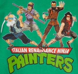 Italian Renaissance Ninja Painters (TMNT style)