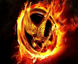 Mocking Jay logo from 'the Hunger Games: Catching Fire'