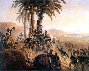 The Haitian Revolution against Napoleon led by L'overture