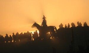 Napoleon on horse silhouette