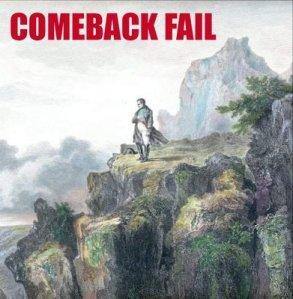Napoleon's second exile: comeback fail