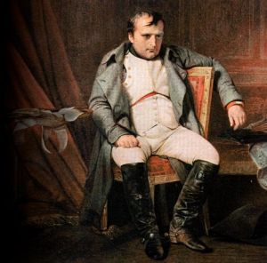 one of Napoleon's last portraits