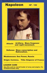 Napoleon's stats