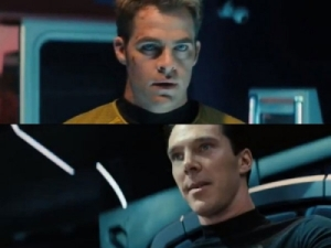 "Kirk vs Khan in ""Star Trek into Darkness"" (J. J. Abrams)"