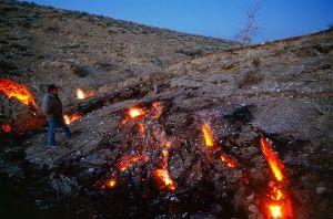 underground coal fire