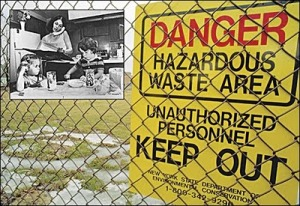 Danger - Hazardous Waste Area - Unauthorized Personnel : Keep Out!