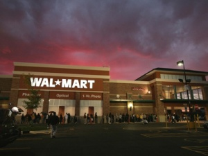 ominous looking Walmart