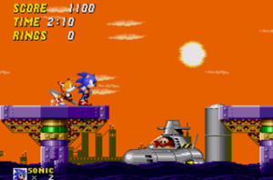 Boss Fight from Sonic 2 - 'Oil Ocean Zone'
