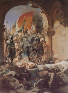 Mehmed enters Constantinople