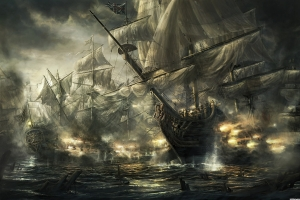 a pirate fleet