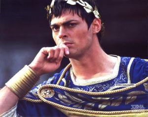 "Caesar as played by Karl Urban on ""Xena: Warrior Princess"""