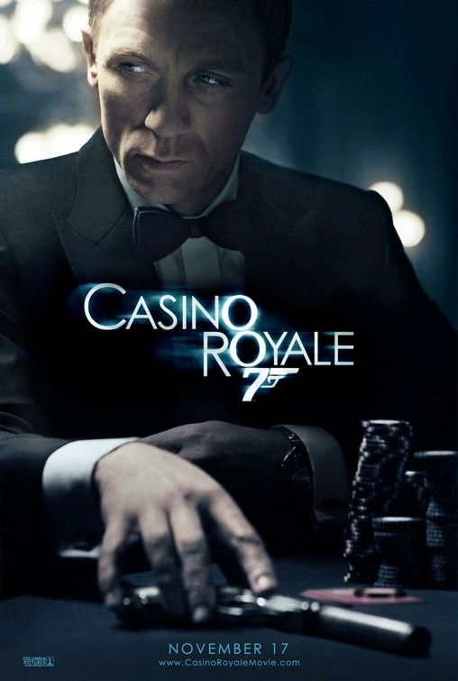 Casino Royale - movie poster (Daniel Craig)