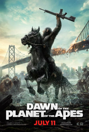 """Dawn of the Planet of the Apes"" - poster"
